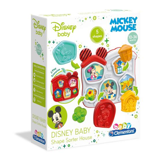 BABY MINNIE E MICKEY BASIC PUZZLE FORME CLEMENTONI
